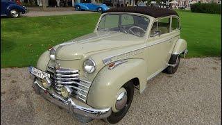 1950-1953 Opel Olympia - Classic-Gala Schwetzingen 2016