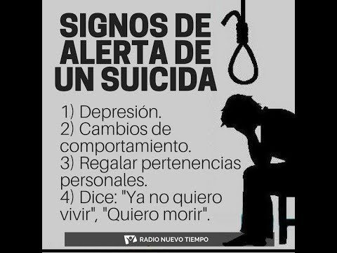 PREVENCION DEL SUICIDIO!! 2019