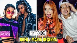 REACCION con mi AMIGA a KHEA, Maria Becerra - Te Necesito
