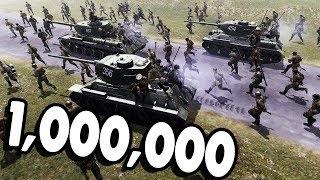 Million Men Armies Battle for the World | Robz Realism | Men of War: Assault Squad 2 Gameplay