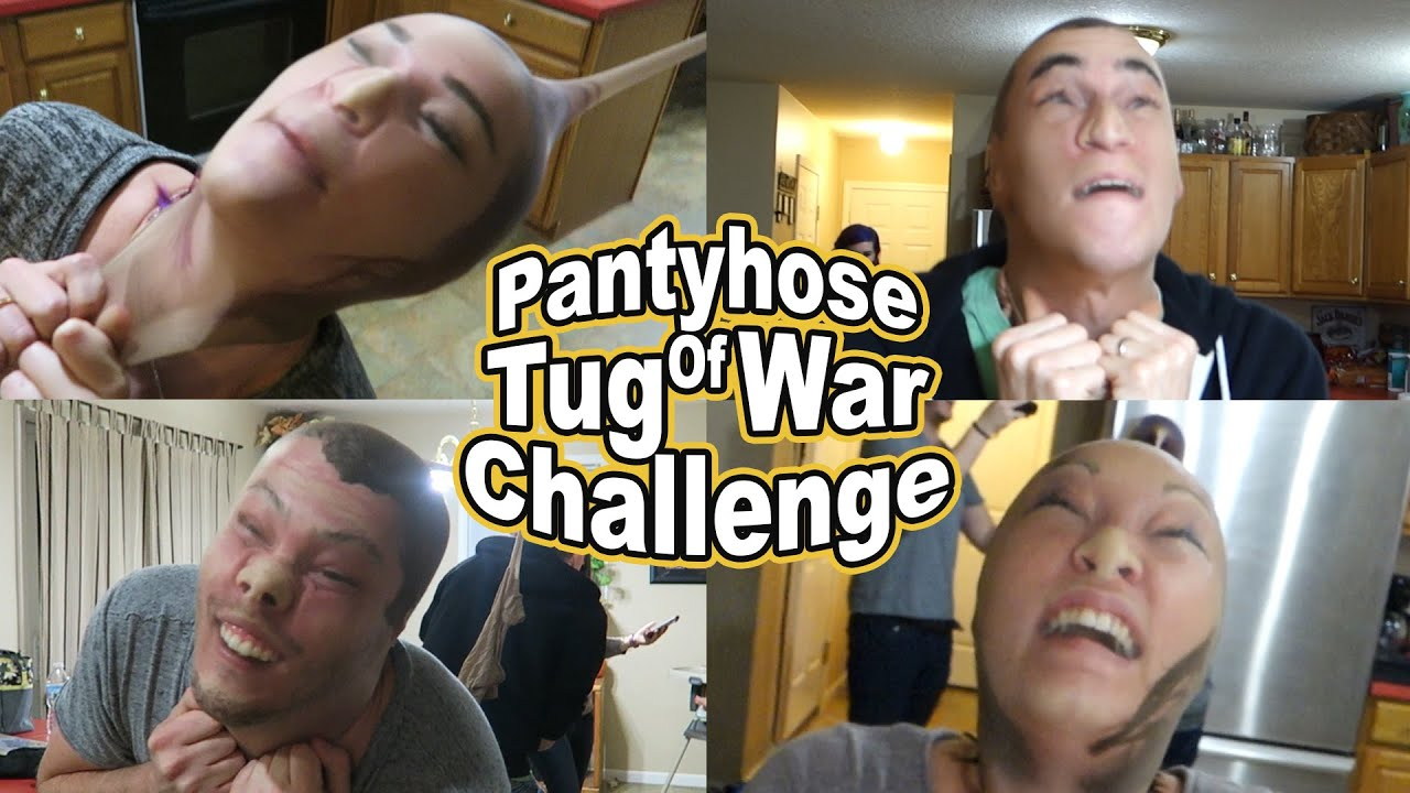 Pantyhose tug of war