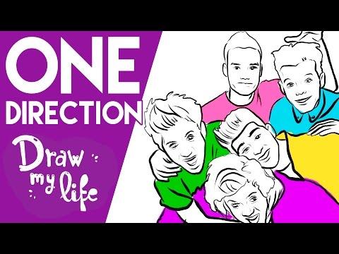 ONE DIRECTION - Draw My Life  en Español