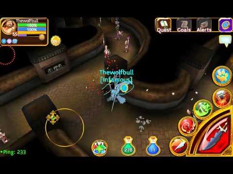 Arcane Legends Level 56 Max Level
