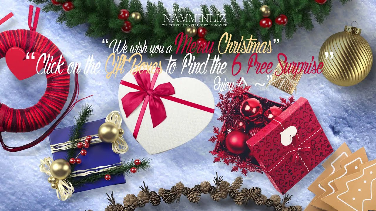 Gift merry christmas gifts namminlz youtube gift merry christmas gifts namminlz negle Image collections