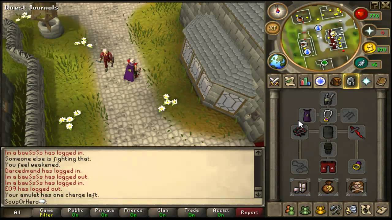 How to: make a successful runescape account.