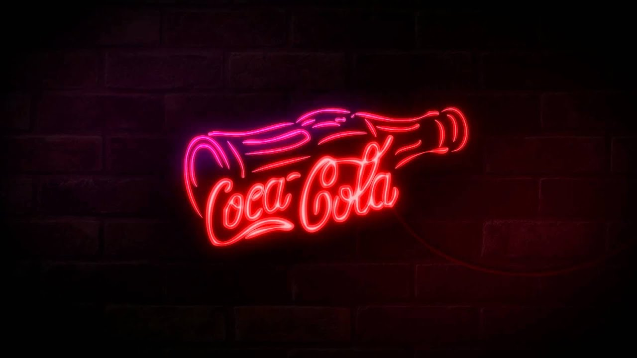 Signs And Quotes Wallpapers Coca Cola Neon Light Youtube