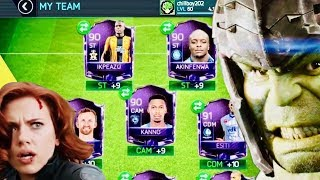 STRONGEST PLAYERS TEAM IN FIFA MOBILE - Won 120 OVR Man UTD in Pogba Campaign - Gameplay Review