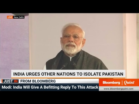 PM Modi On Pulwana Attack
