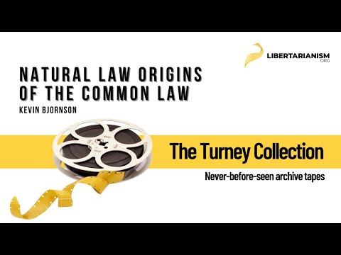 Natural Law Origins of the Common Law