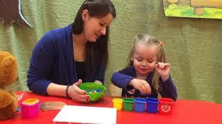 Мозаика для детей. Обучающий урок