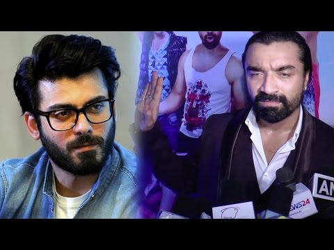Ajaz Khan Lashes Out When Asked About Fawad Khan