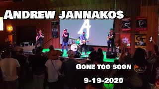 Gambar cover Andrew Jannakos - Gone Too Soon 9-19-2020