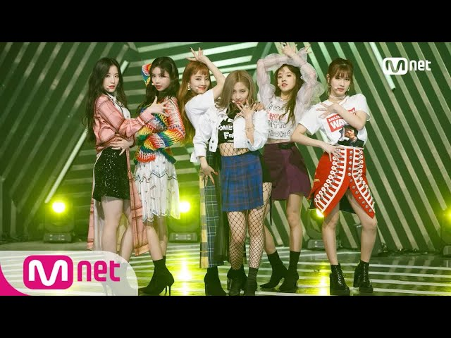 [(G)I-DLE - LATATA] Debut Stage   M COUNTDOWN 20180503 EP.569