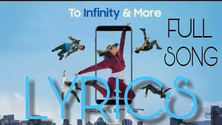 Samsung Galaxy j6 Full Song- To Infinty & me| officially full video|