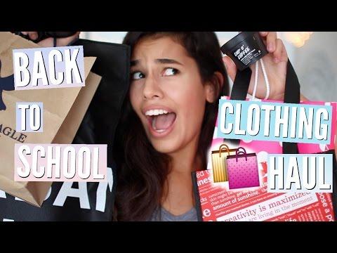 Back To School Clothing Haul 2016!