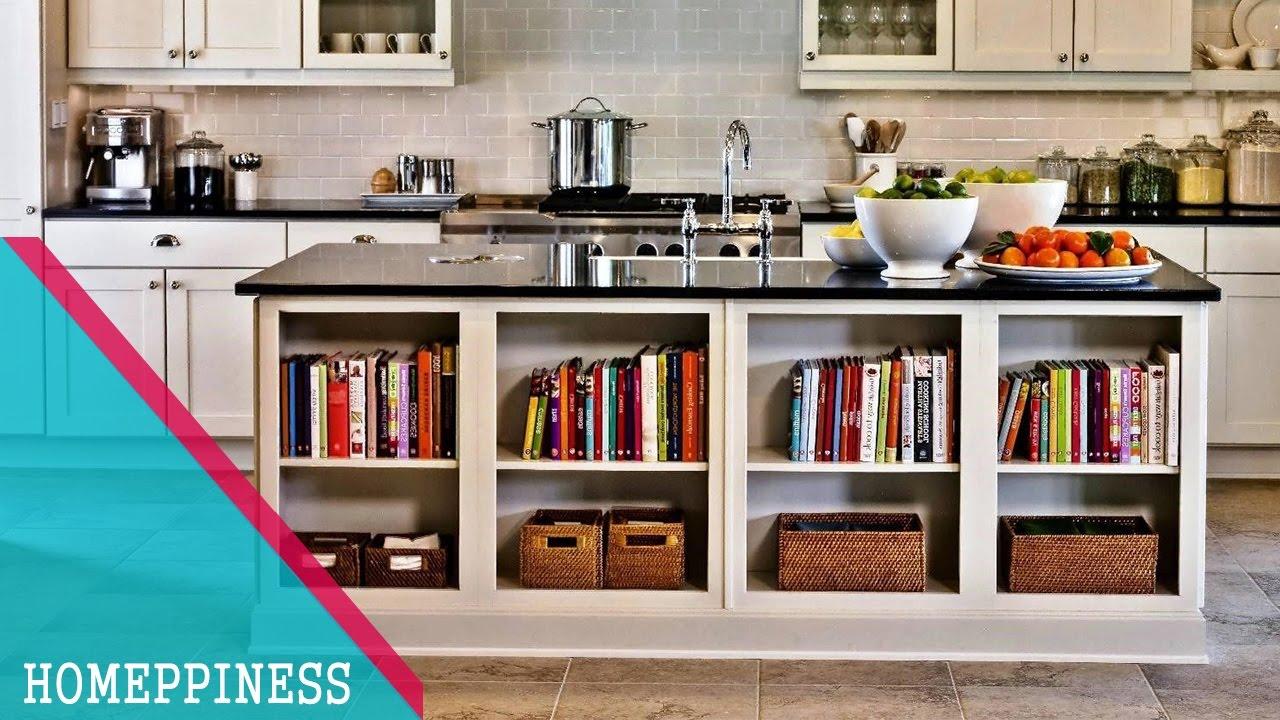 50 Awesome Kitchen Bookshelf Ideas For Cookbooks