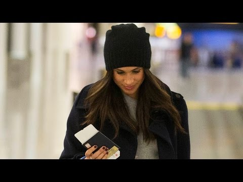 Thumbnail: Meghan Markle Leaves London After Romantic Week With Prince Harry