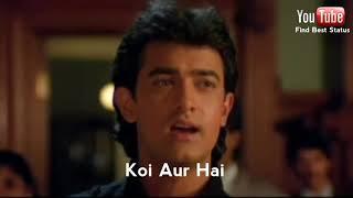 Tu Pyar Hai Kisi Aur Ka (Lyrics) | Romantic Hindi Whatsapp Status Video 2018 | Amir Kan