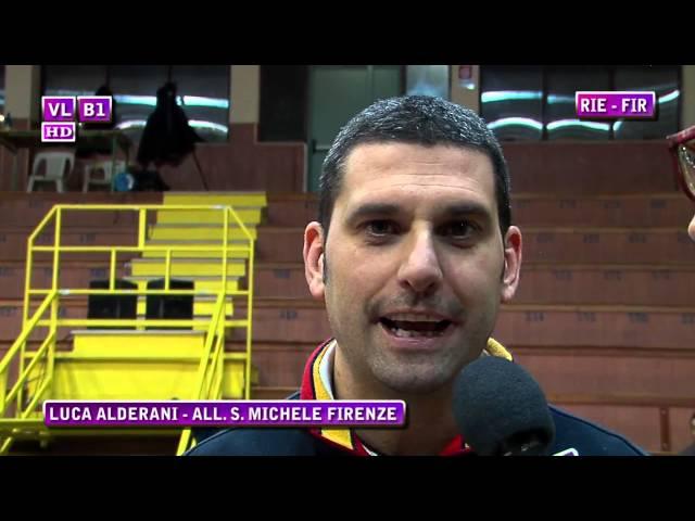 Interviste Rieti vs S. Michele Firenze
