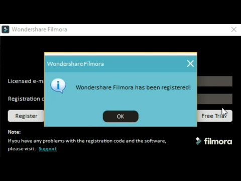filmora 8.5.1 registration code 2018