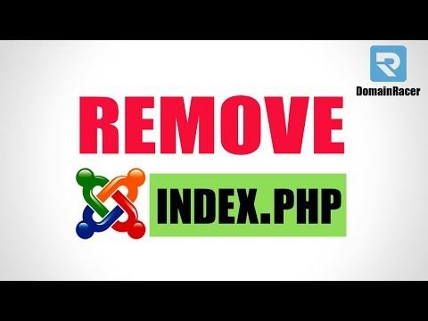 Remove/Disable Index.php From Joomla URL #2Min
