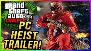 "GTA 5 PC: ""LEAKED GTA 5 PC Heists Gameplay Trailer""! Leaked GTA 5 PC Heists (""GTA 5 PC Trailer"")"