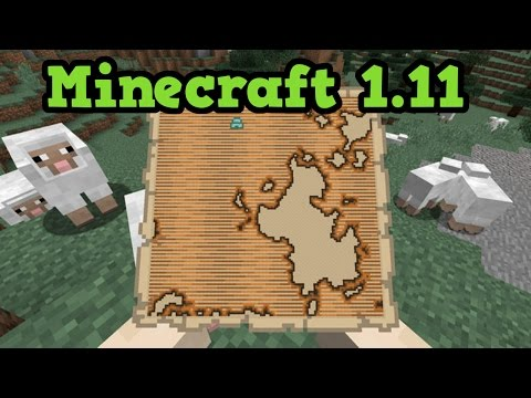 Minecraft 1.11 - Mansions, New Mobs FIRST LOOK