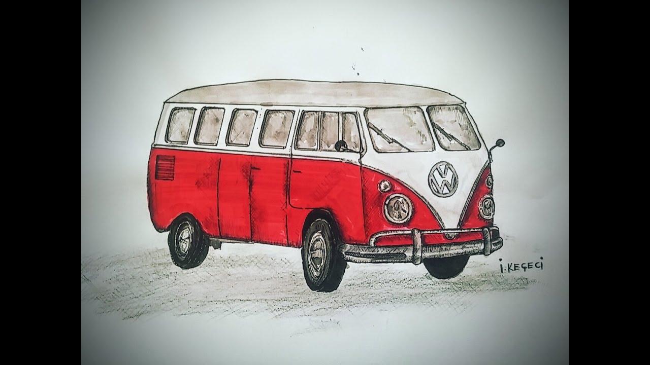 Volkswagen Clic Van Timelapse Drawing