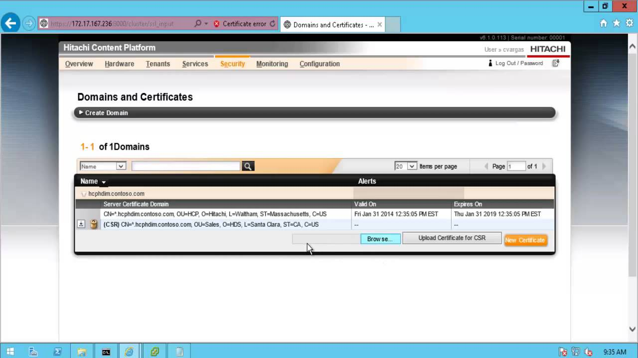Configure ssl certificate for hcp youtube configure ssl certificate for hcp xflitez Images