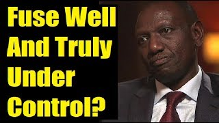 Did DP Ruto Crack At The BBC Studios?