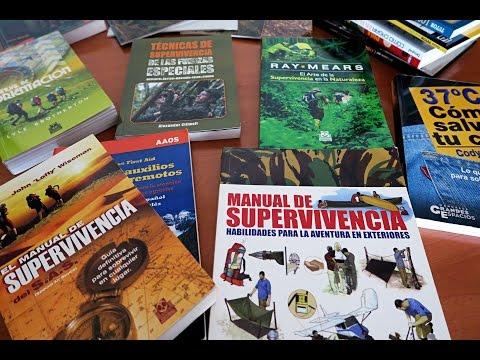 manuales-de-supervivencia,-bushcraft,-orientación,-rastreo-y-montaña