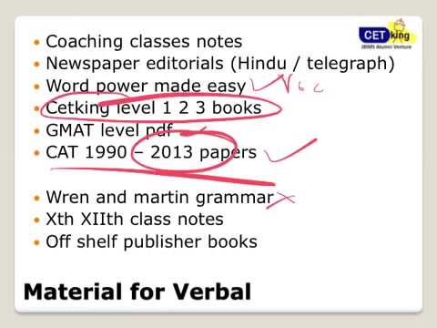 CAT 2013 PREPARATION MATERIAL EBOOK