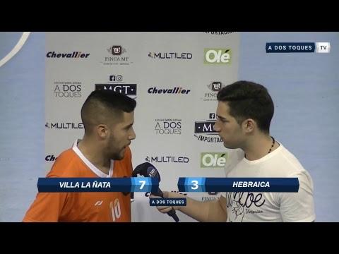 Futsal En Vivo: Villa La Ñata Vs Hebraica