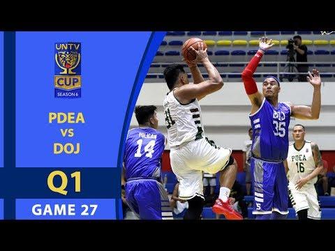 UNTV Cup 6: PDEA vs DOJ — Q1