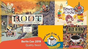 Vast - Root - Towers of the Sun - Board Game Cafe Frenzy: Quality Beast - Berlin Con 2019