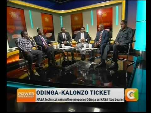 Power Breakfast News Review : Odinga-Kalonzo Ticket