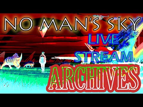 Let's Play No Mans Sky! Late night GOLD rondevu! *CAVES OF GOLD!*