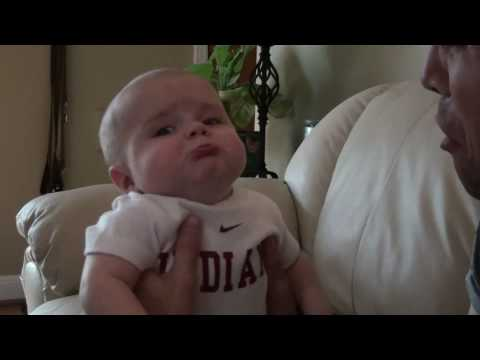 Mean Daddy - Hilarious Baby Video!