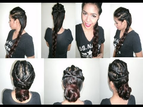 no heat hair styles back to school hairstyle to prom wedding 4690 | hqdefault