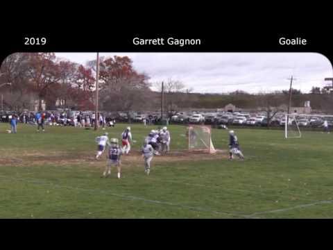 Garrett Gagnon 2019 Goalie Fall Highlight Reel