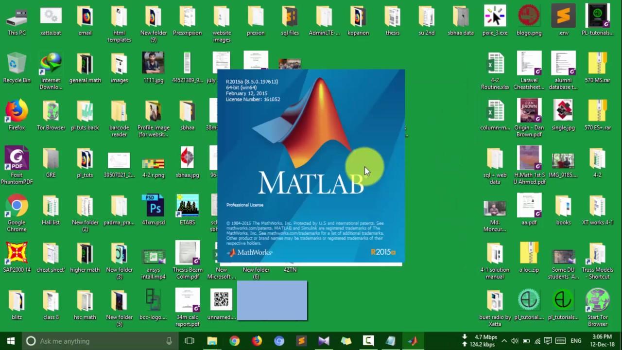 license key for matlab r2015a