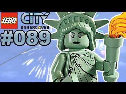 LEGO CITY UNDERCOVER #089 Lady Liberty Island 🐲 Let's Play LEGO City Undercover [Deutsch]