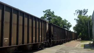 UP 6944 & IAIS 505 Lead PECR Loaded Coal Train