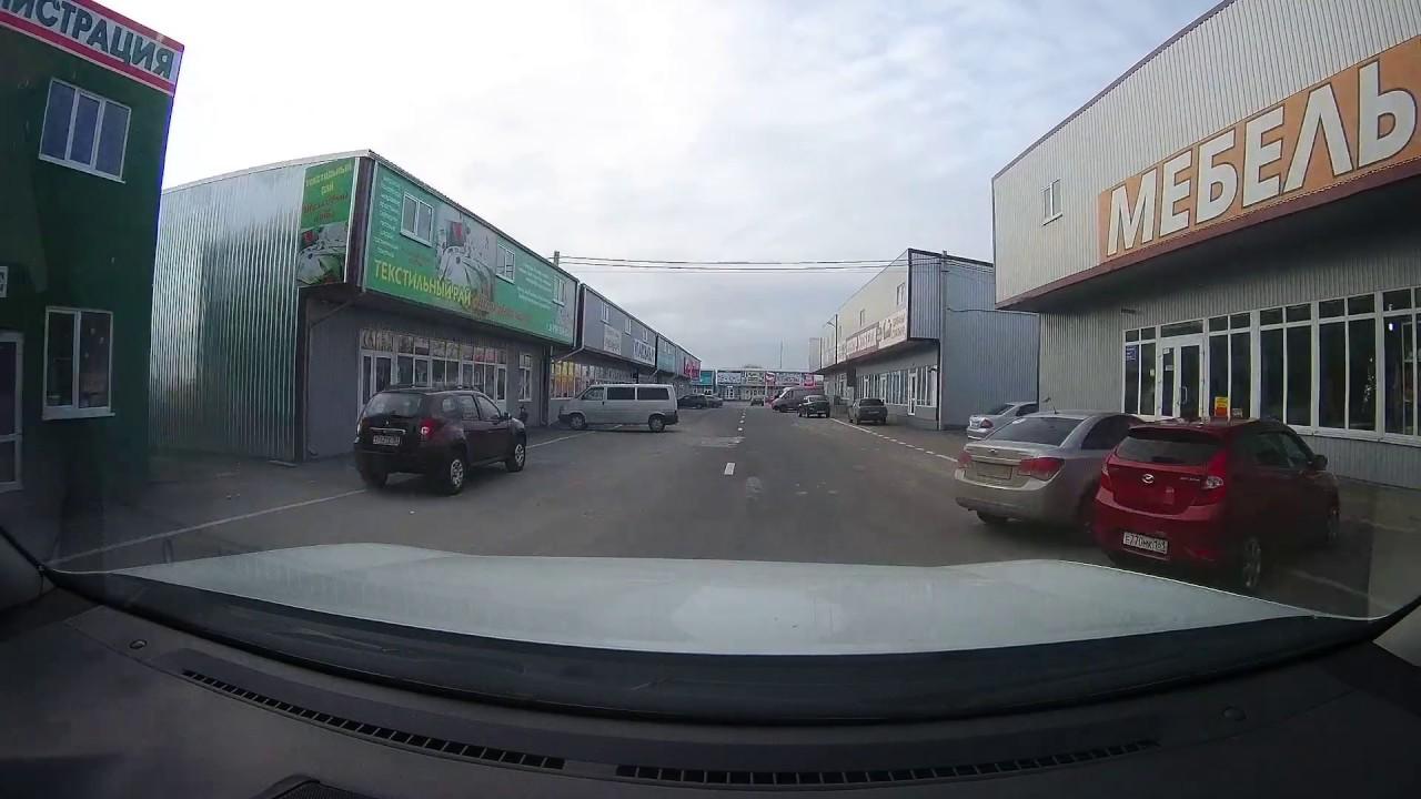 Видеорегистратор. ДТП на Октябрьском, 120. Место происшествия .