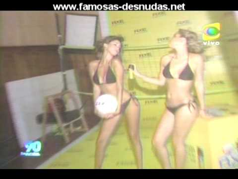 Tilsa Lozano y Andrea Iglesias en Tanga