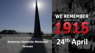 'OUT OF DARKNESS INTO LIGHT' - from The Armenian Genocide of 1915 to Isis today.