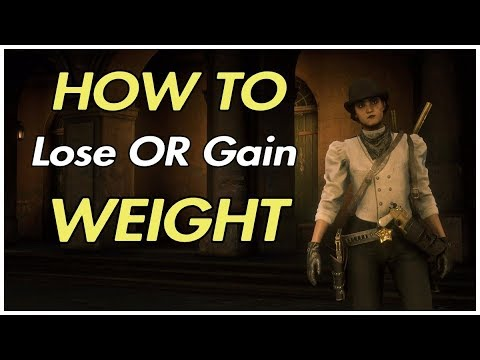 RED DEAD REDEMPTION 2 ONLINE – FASTEST EASIEST WAY TO GAIN OR LOSE WEIGHT