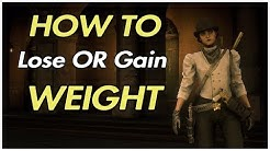 RED DEAD REDEMPTION 2 ONLINE - FASTEST EASIEST WAY TO GAIN OR LOSE WEIGHT