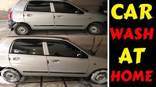 Gambar cover CAR WASH AT HOME | TYRE, INTERIOR, EXTERIOR | Rahul Singh