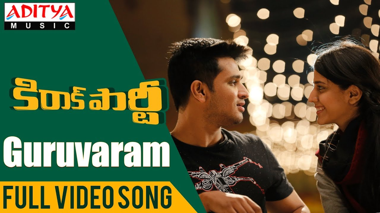 Guruvaram Full Video Song Kirrak Party Video Songs Nikhil